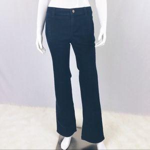 Ann Taylor Size 2 Signature Trouser Jean Bootcut